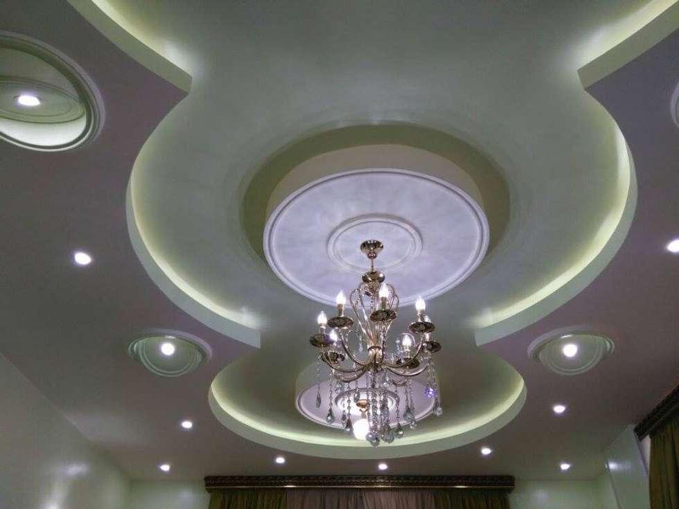 تشطيب شقة بالتجمع الخامس بالقاهرة الجديدة  مع شركة كاسل:  صالة الرياضة تنفيذ Castle