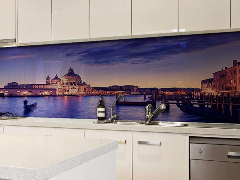 Idee arredamento casa interior design homify - Pannelli retro cucina ...