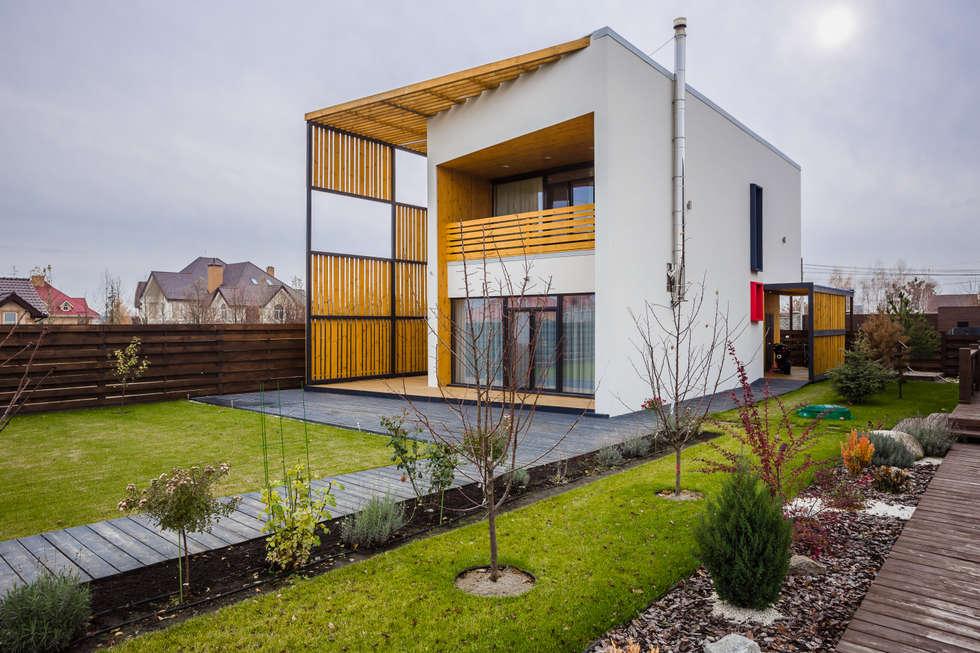 minimalistic Houses by Мастерская Grynevich Dmitriy