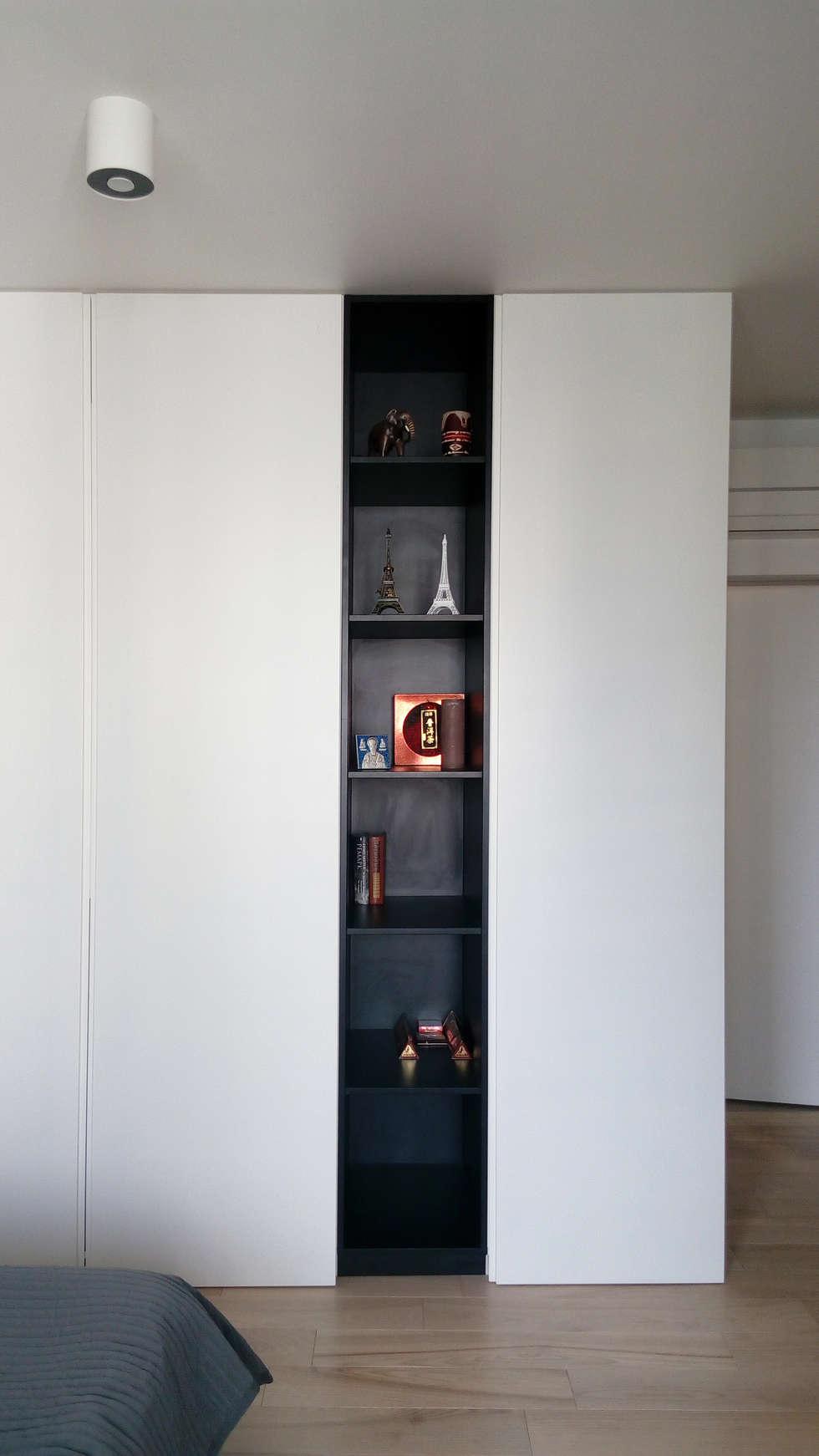 minimalistic Bedroom by Мастерская Grynevich Dmitriy