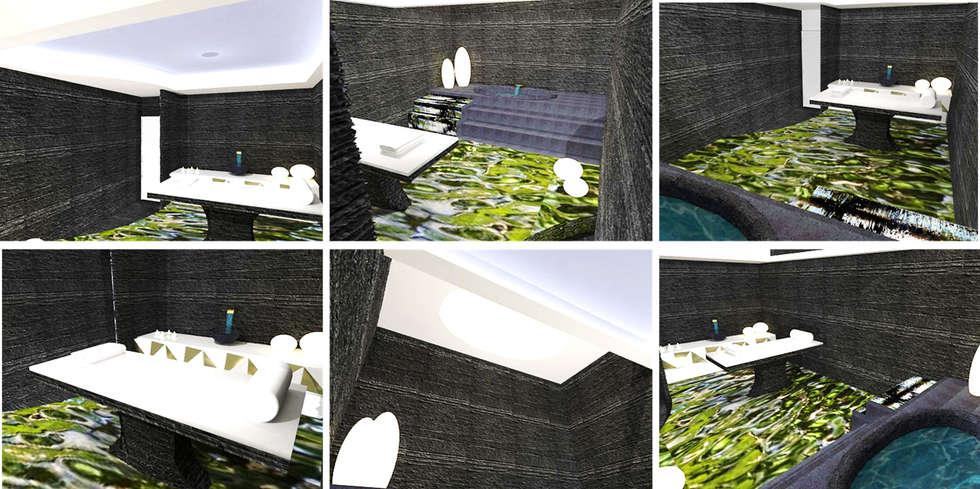 Sala de Tratamentos Balsâmica. : Clínicas  por EGO Interior Design