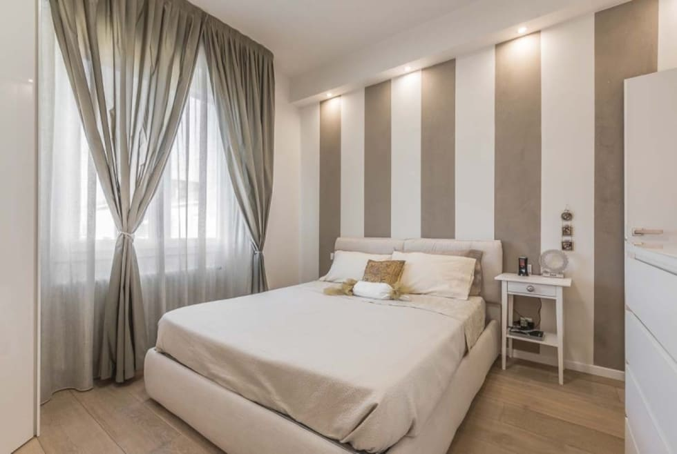 Idee arredamento casa interior design homify for Camera da letto tortora