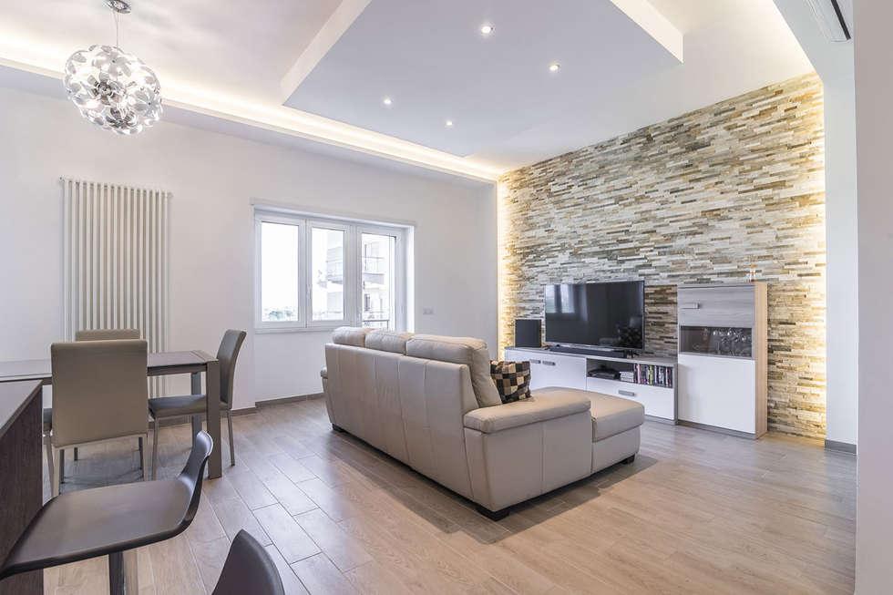 Idee arredamento casa interior design homify - Soggiorno open space ...