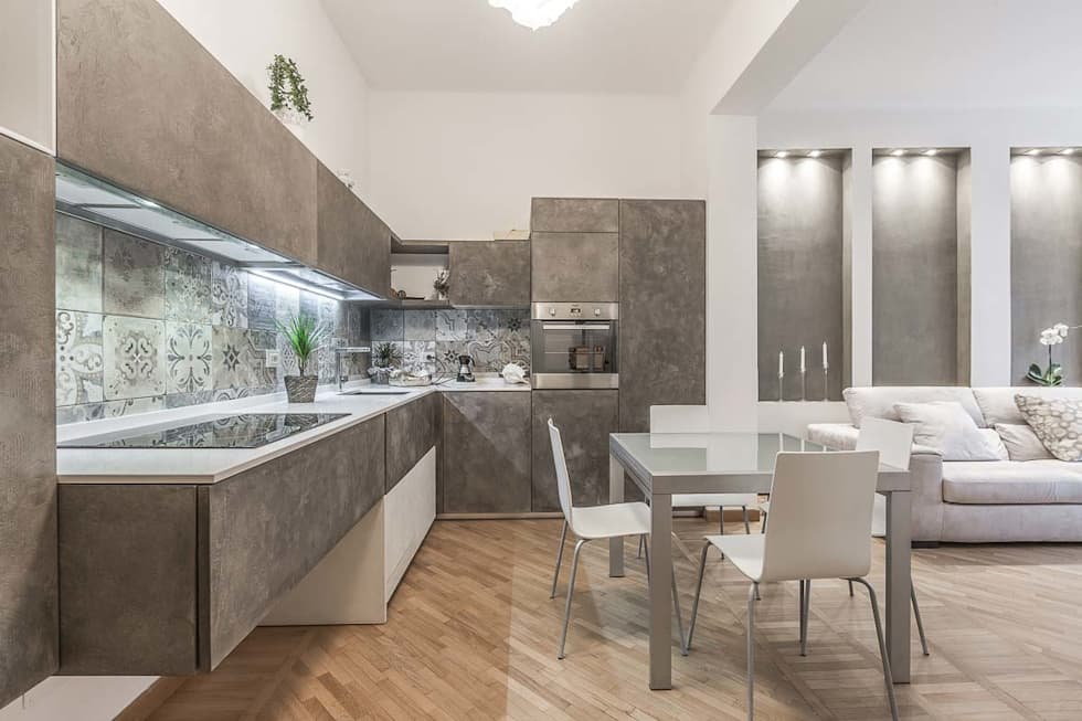 Idee arredamento casa interior design homify for Cucina open space
