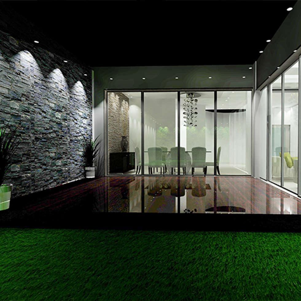Fotos de decora o design de interiores e reformas homify for Casas sobre terrazas