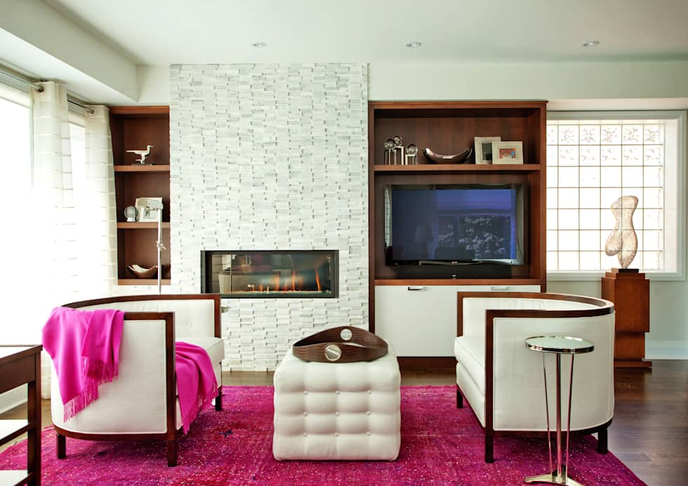 Beach Living Room: modern Living room by Collage Designs
