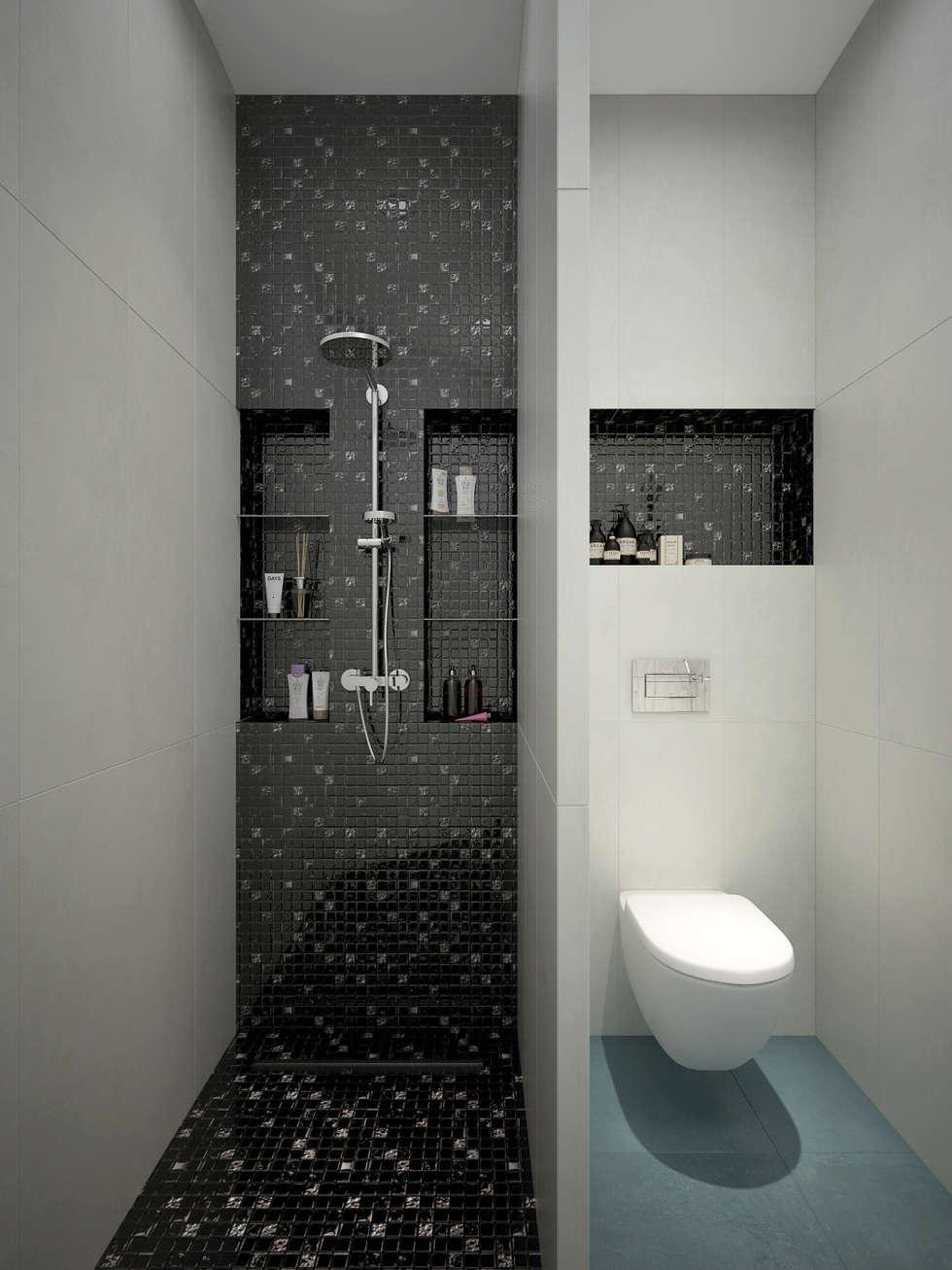 Baños de estilo moderno por design studio by Mariya Rubleva