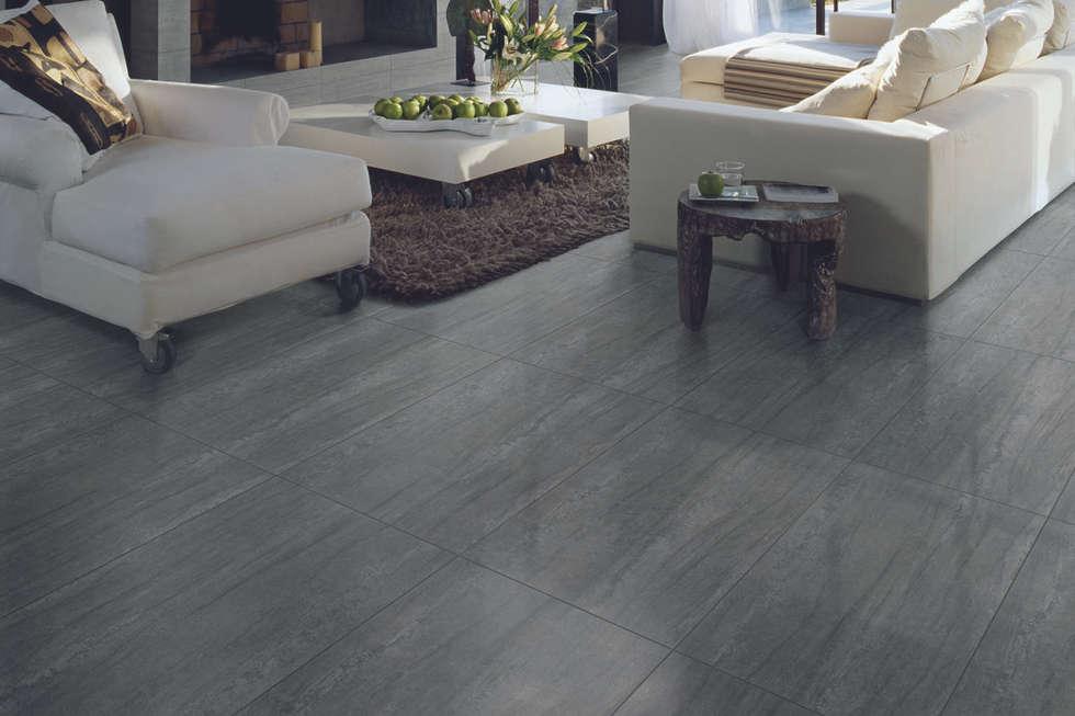 Idee arredamento casa interior design homify for Gres porcellanato grigio