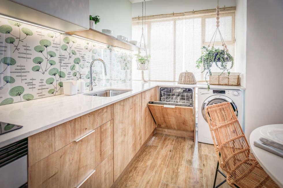 Cocinas de estilo escandinavo de Homestories