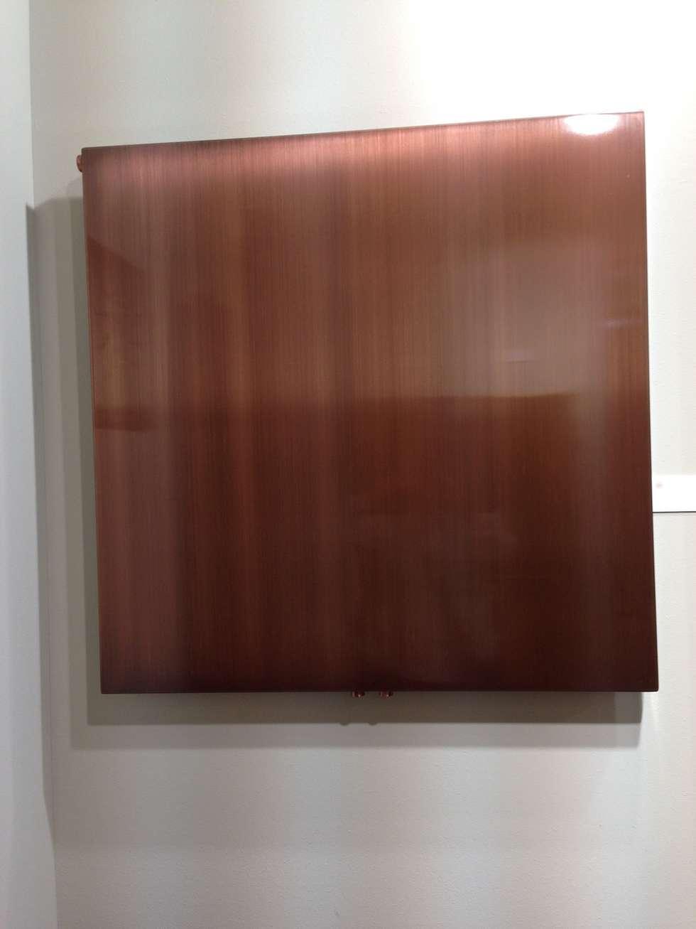 Design heizkörper wall von k8 radiatori in kupfer: moderne ...