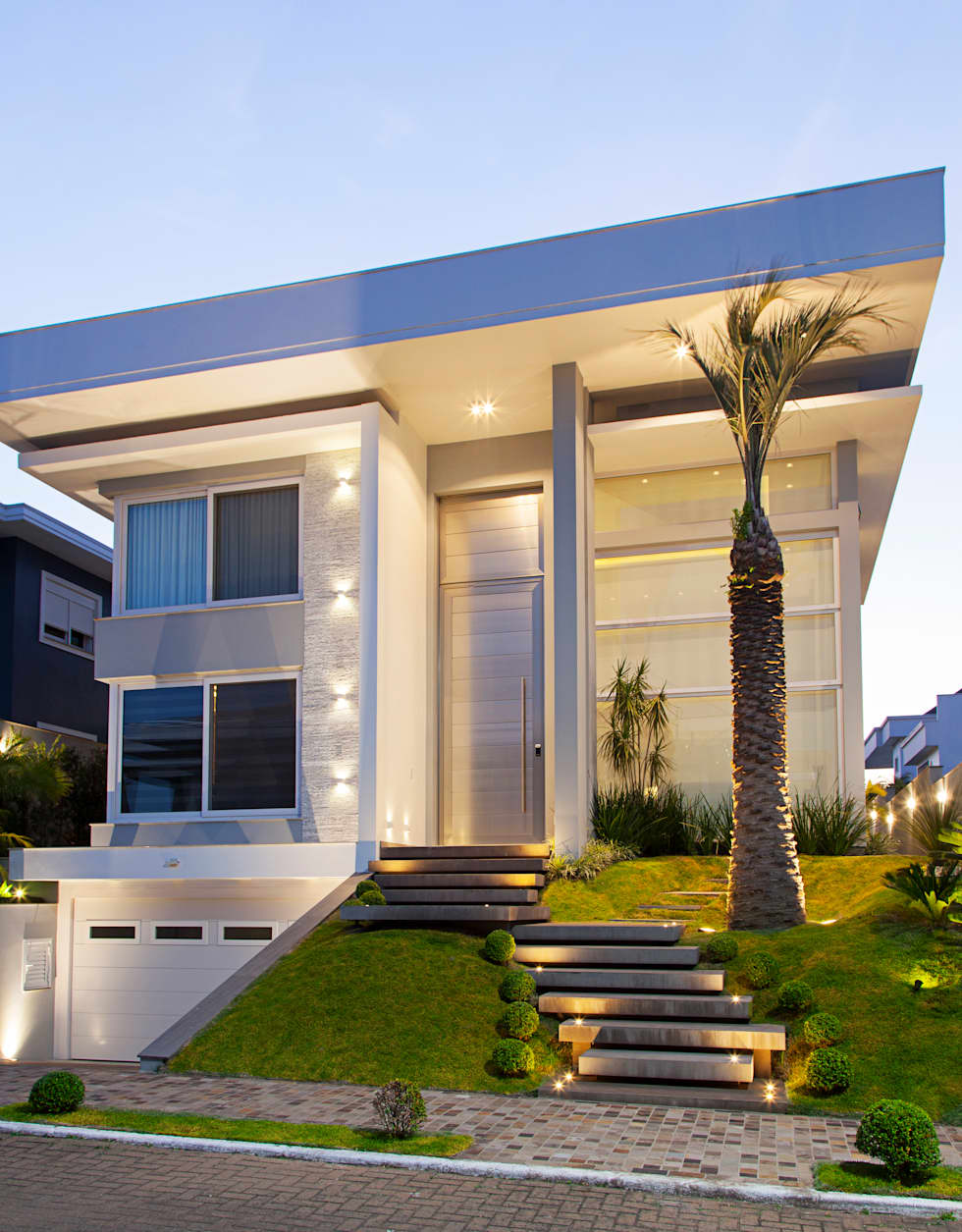 Fotos de decora o design de interiores e reformas homify - Entrada de casas modernas ...