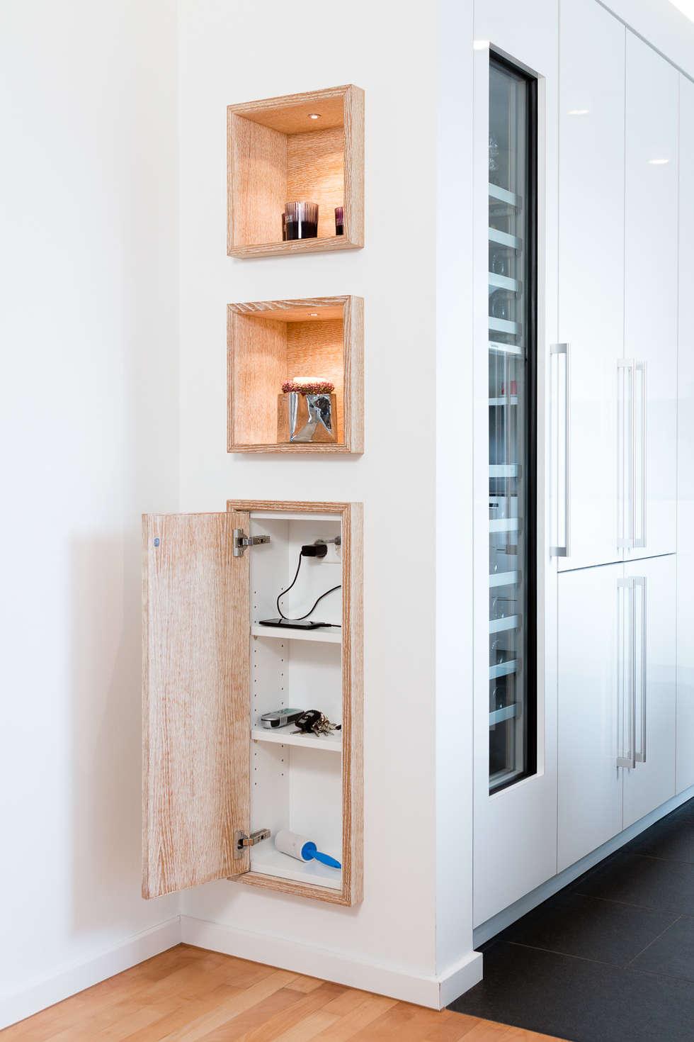 Appartementküche nach Maß von Klocke Möbelwerkstätte GmbH   homify