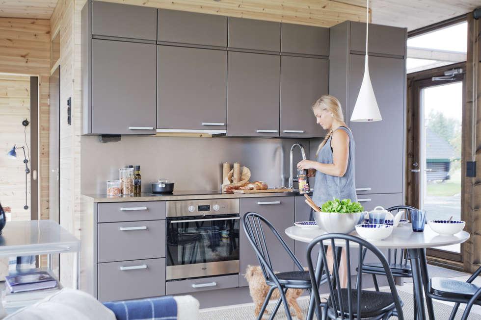 ห้องครัว by Woody-Holzhaus - Kontio