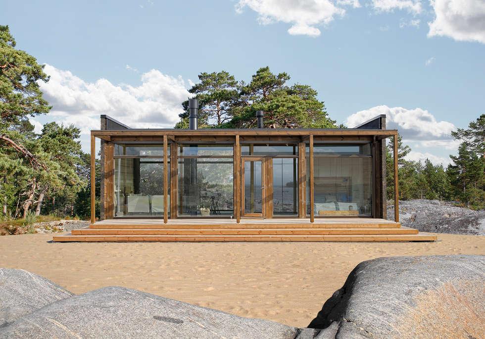บ้านและที่อยู่อาศัย by Woody-Holzhaus - Kontio