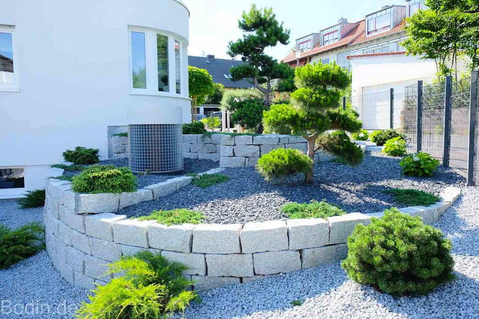 Moderner Garten Bilder Gartengestaltung im Bauhausstil  homify