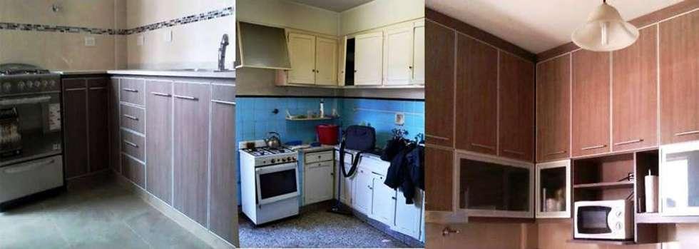 Remodelación cocina II: Cocinas de estilo moderno por AyC Arquitectura