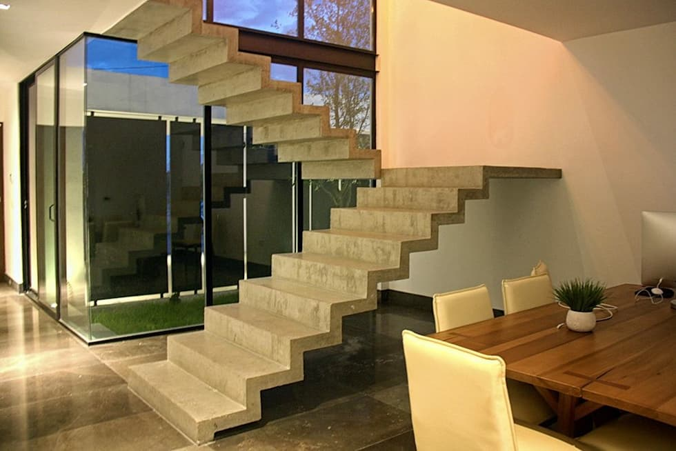 Ideas im genes y decoraci n de hogares homify for Escaleras modernas interiores de concreto