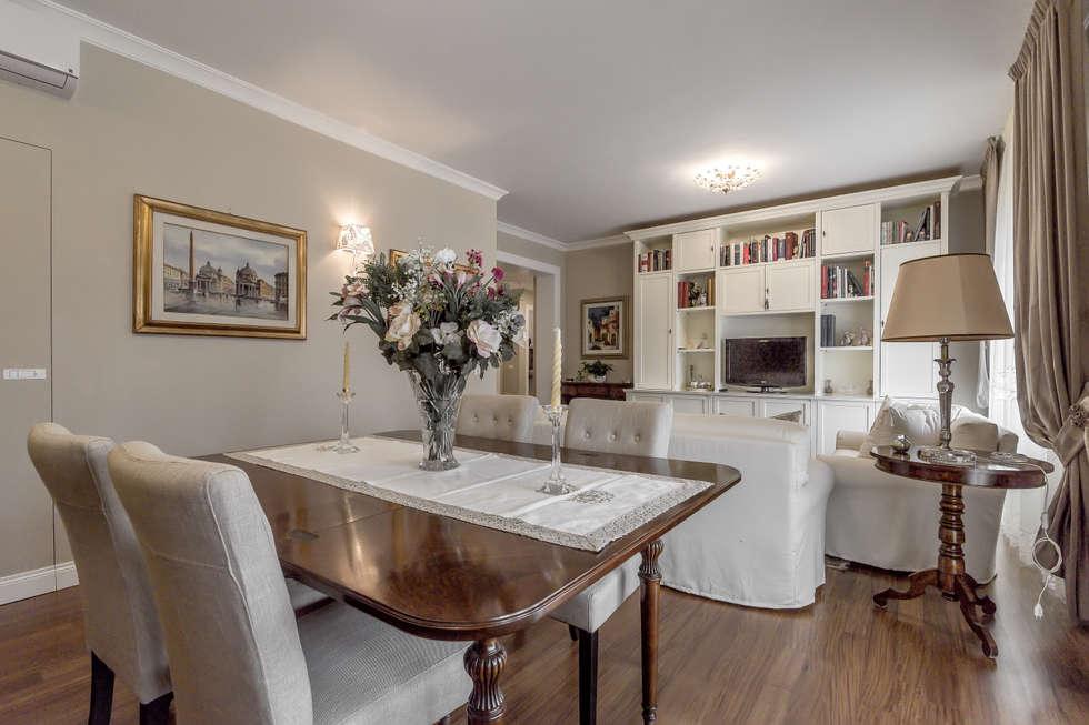 Idee arredamento casa interior design homify for Sala da pranzo e soggiorno
