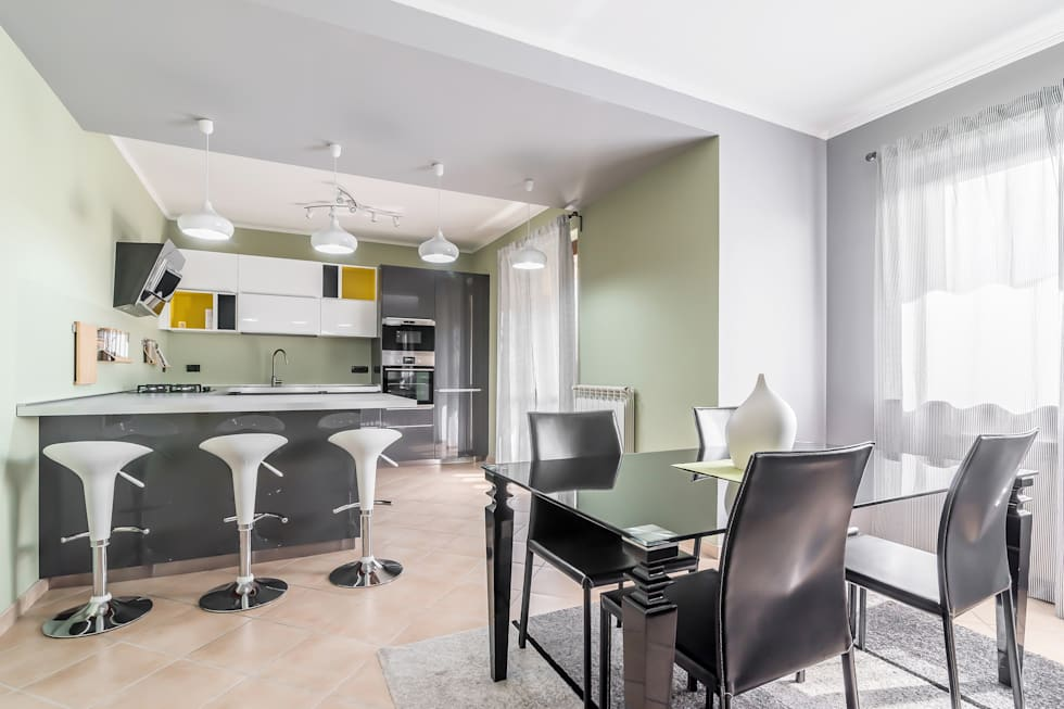 Idee arredamento casa interior design homify - Stanza da pranzo moderna ...