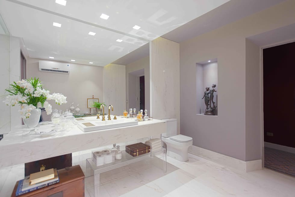 modern Bathroom by Ju Nejaim Arquitetura