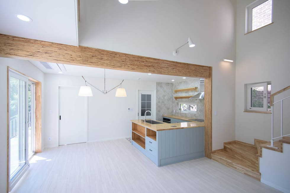 1층 주방: 건축사사무소 재귀당의  주방