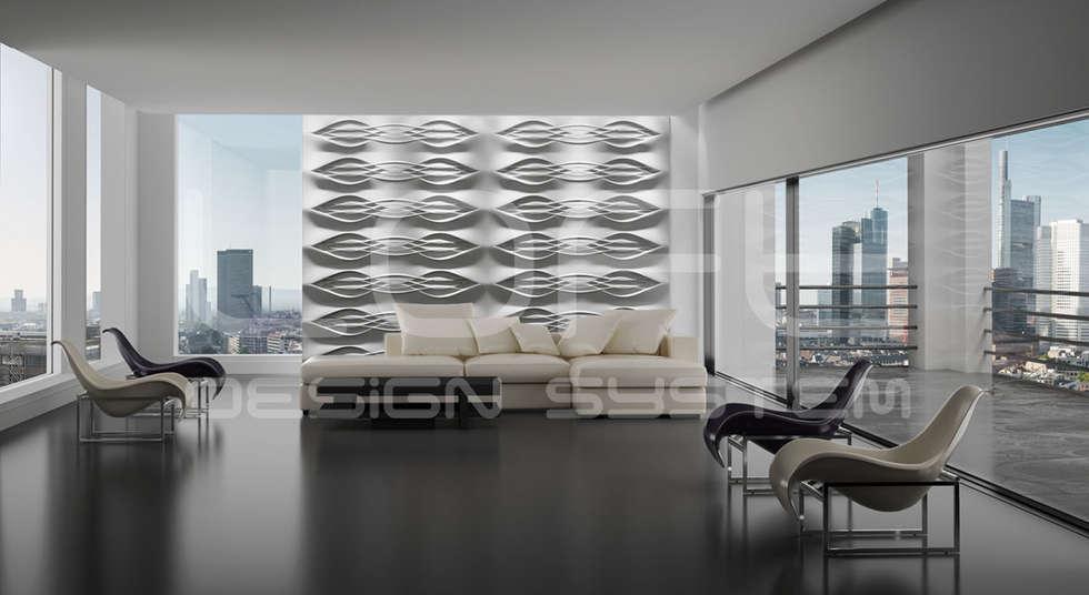 Wohnideen interior design einrichtungsideen bilder for Dekorative wandgestaltung