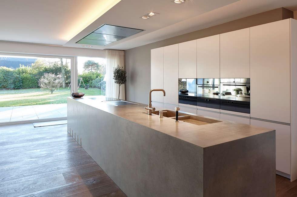 Wohnideen interior design einrichtungsideen bilder for Modern halboffene kuchen