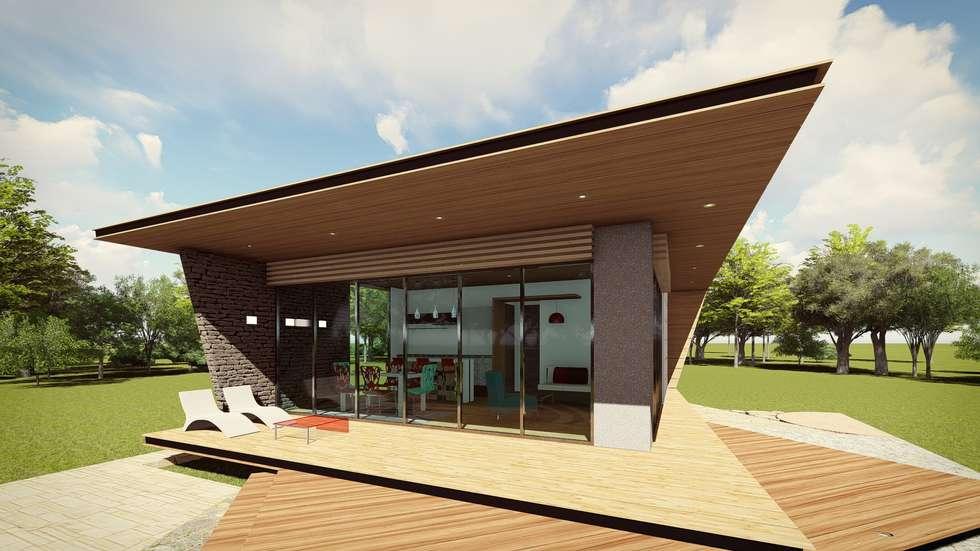 Proyecto Mandala: Casas de estilo minimalista por MÈNDEZ arquitectos