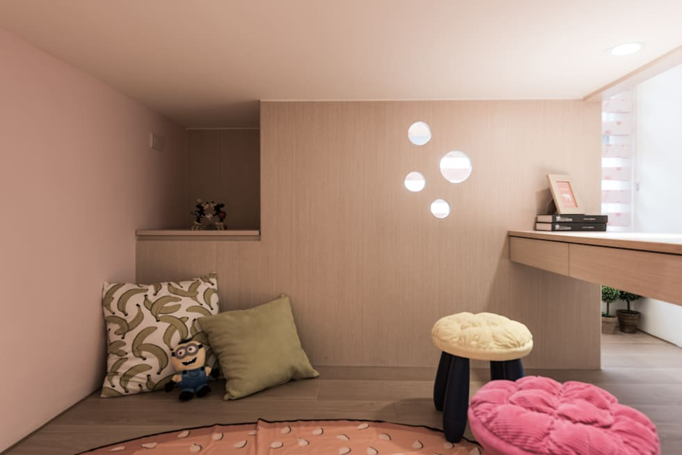 空間彈性:  臥室 by 你你空間設計