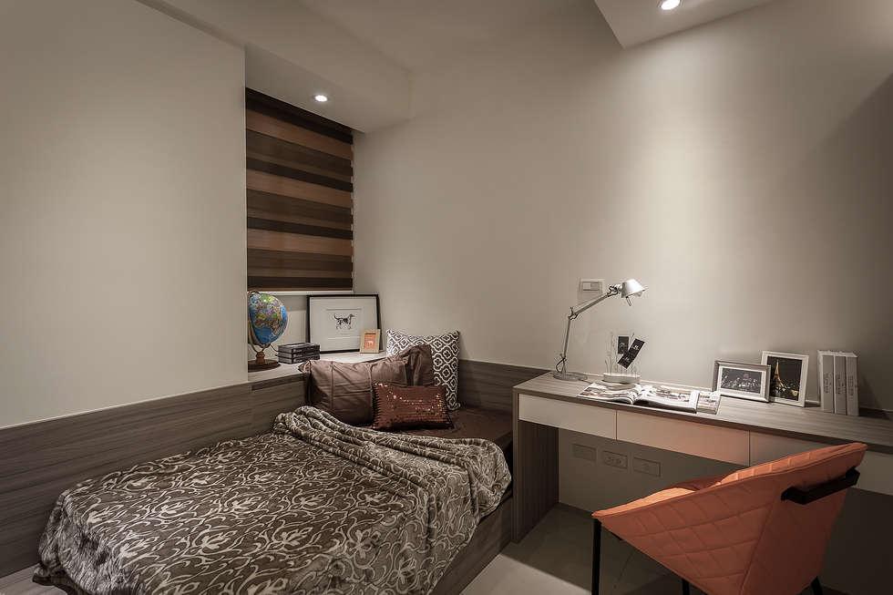 妹妹房:  臥室 by 你你空間設計