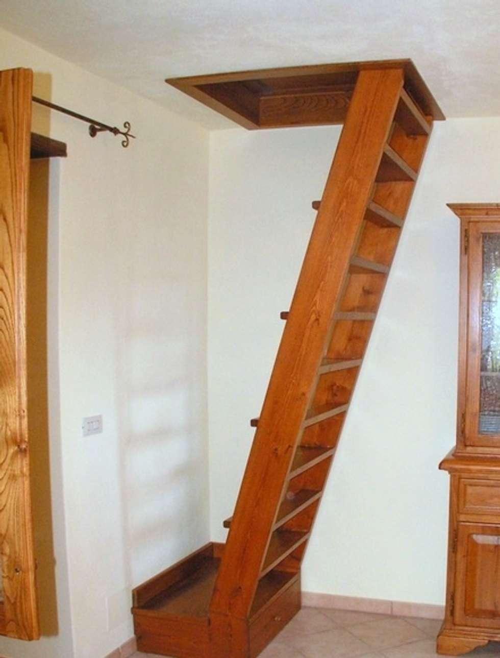 Idee arredamento casa interior design homify - Foto scale in legno ...