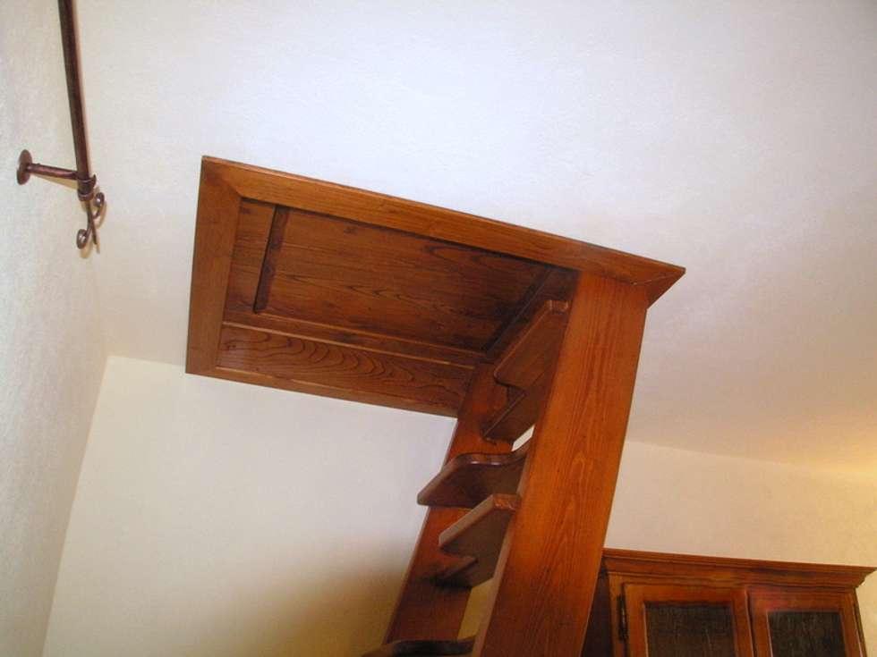 Idee arredamento casa interior design homify for Corrimano in legno roma