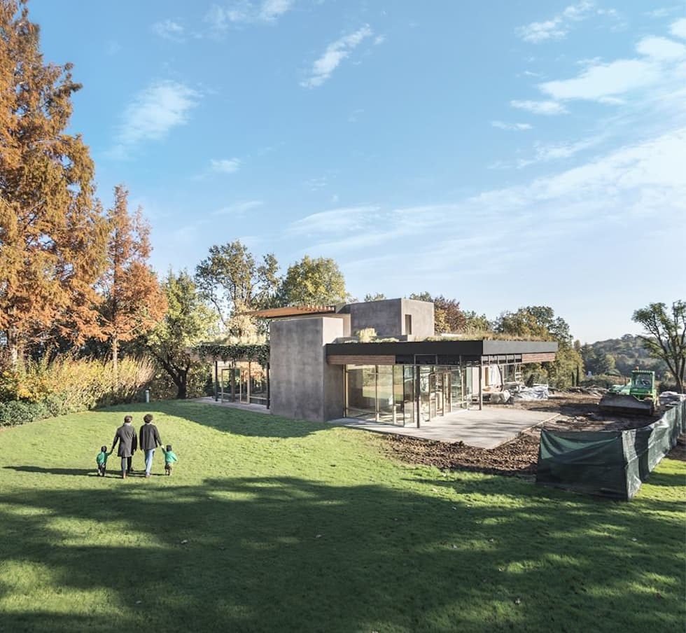 Casa in costruzione: Case in stile in stile Moderno di Moretti MORE