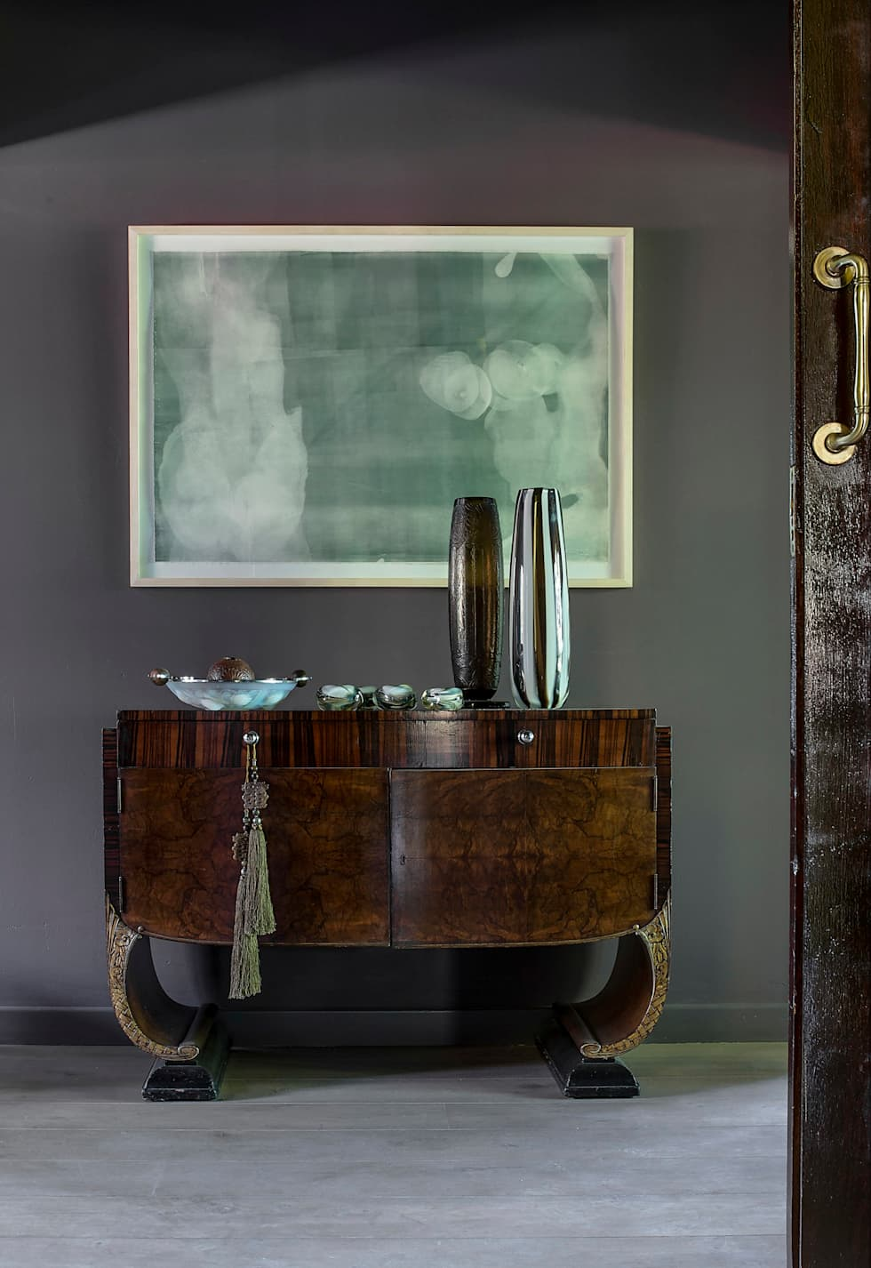 Master Bedroom Foyer:  Hotels by W Cubed Interior Design