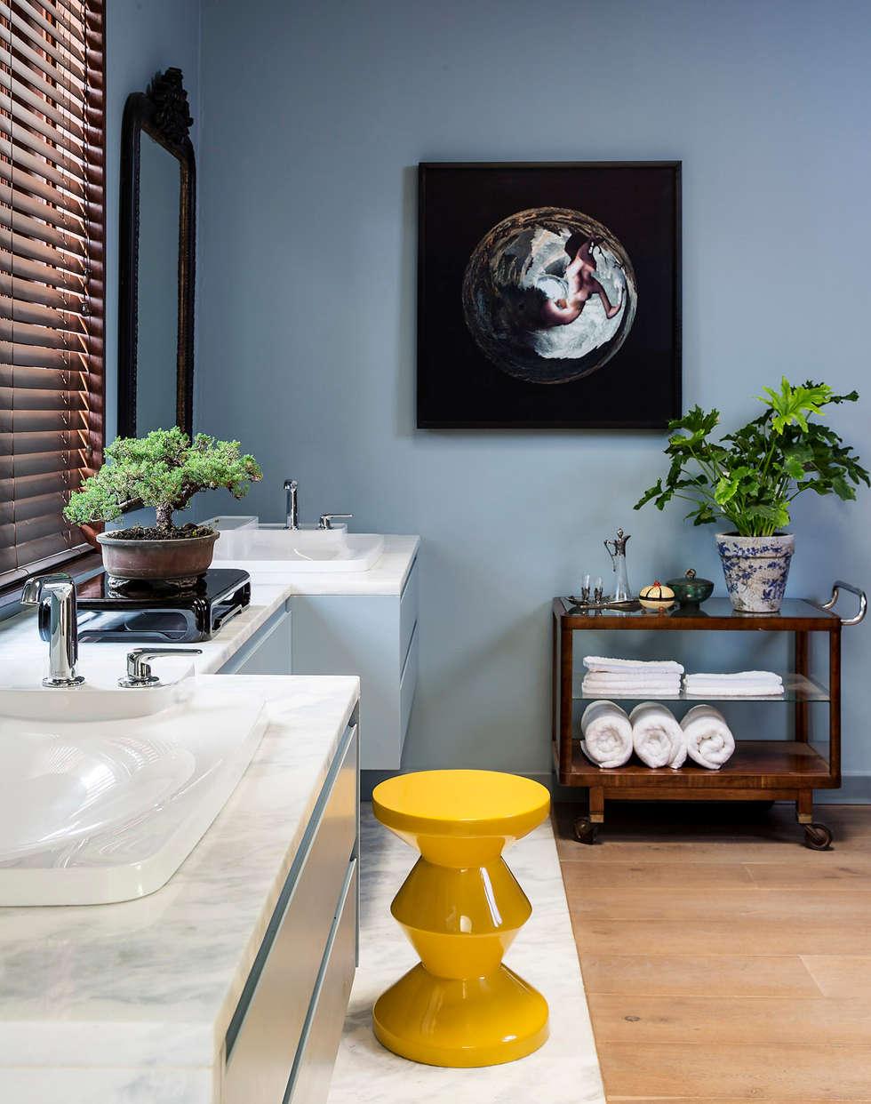 Master Bathroom hand basins:  Hotels by W Cubed Interior Design
