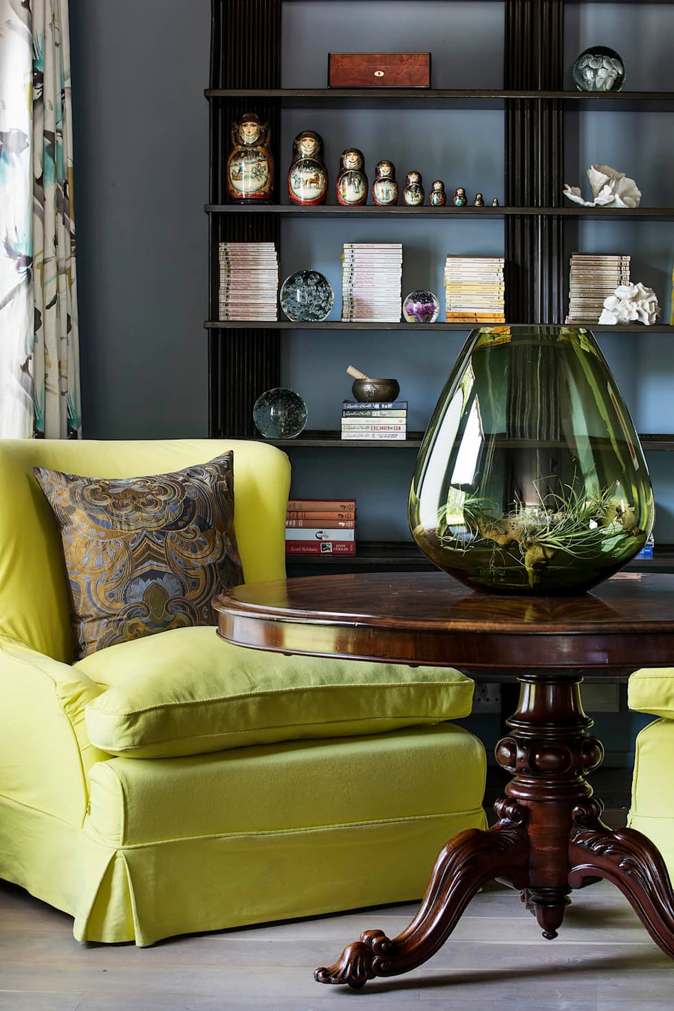 Master Suite Reading Nook:  Hotels by W Cubed Interior Design