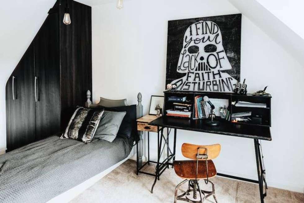 Experiment : eclectic Bedroom by Joseph Bawar