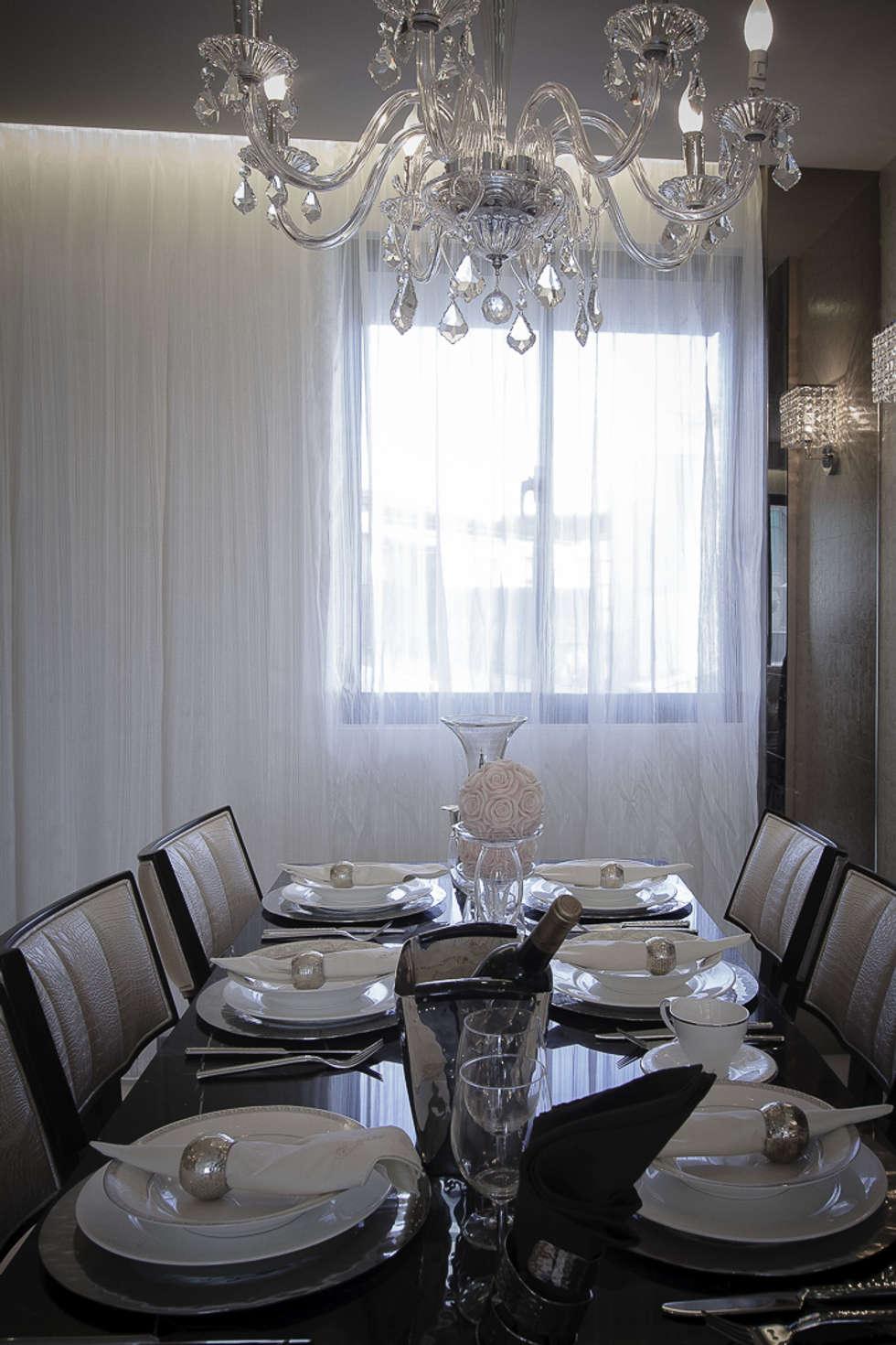 BRAVO INTERIOR DESIGN & DECO    LUX STYLE:  餐廳 by 璞碩室內裝修設計工程有限公司