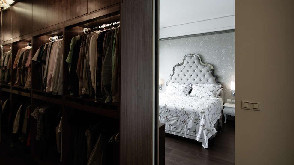 BRAVO INTERIOR DESIGN & DECO    KUAN STYLE:  臥室 by 璞碩室內裝修設計工程有限公司