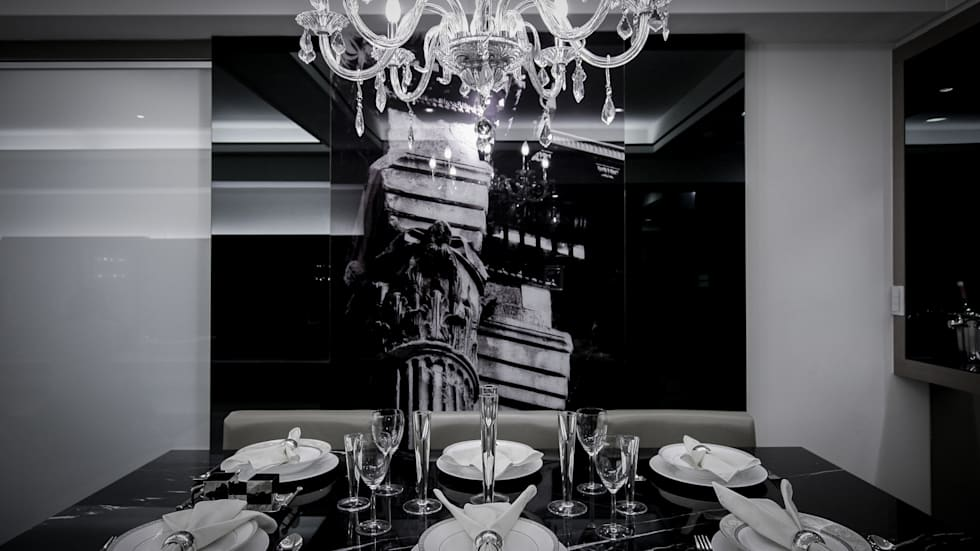 BRAVO INTERIOR DESIGN & DECO    CHIC STYLE:  餐廳 by 璞碩室內裝修設計工程有限公司