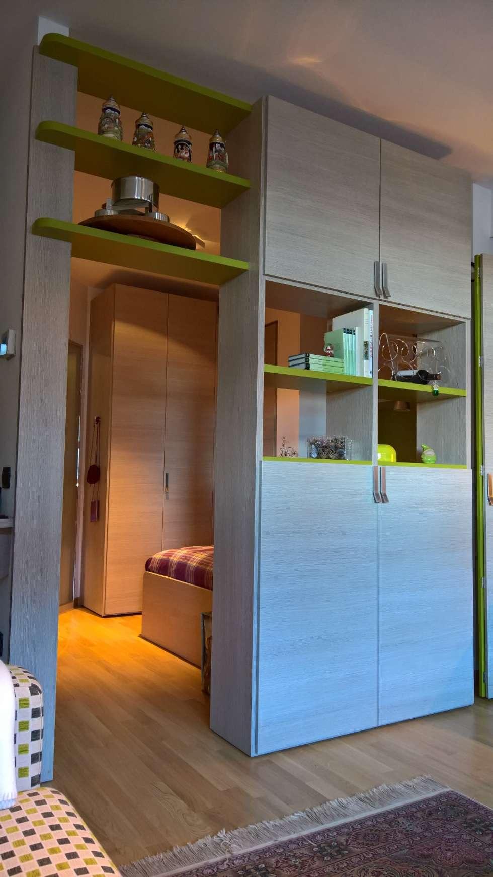 Relax in montagna: soggiorno in stile in stile moderno di ...