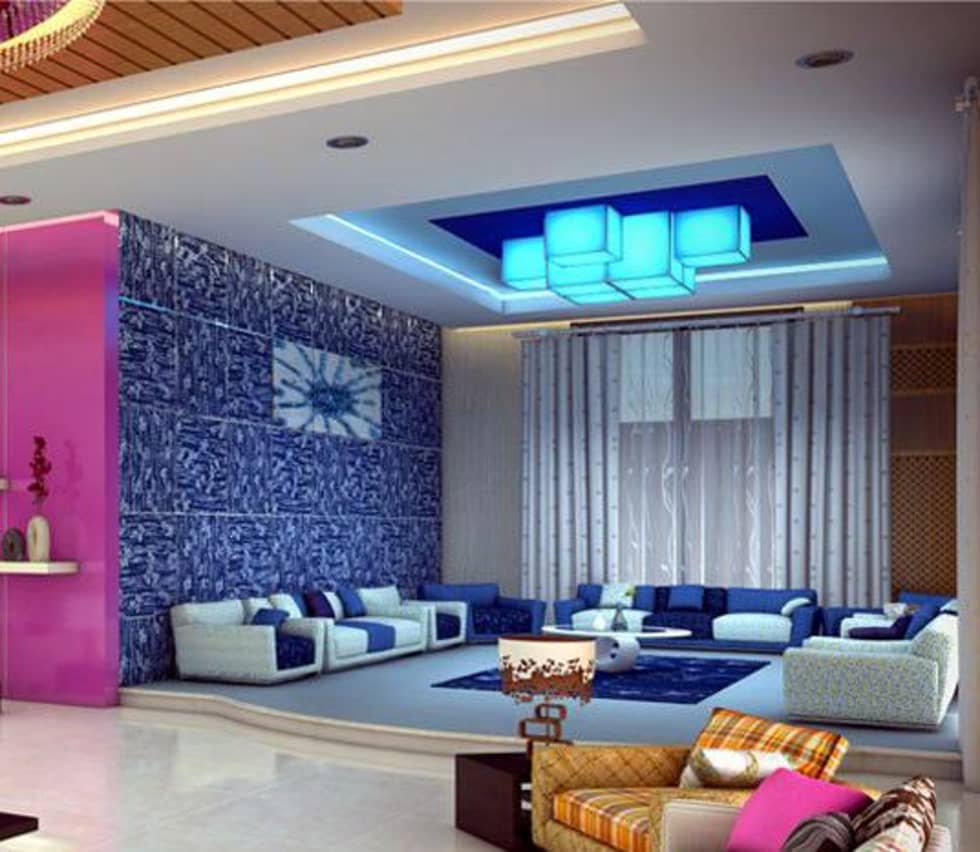 Painting In Noida Asian Living Room By Origin Interiors