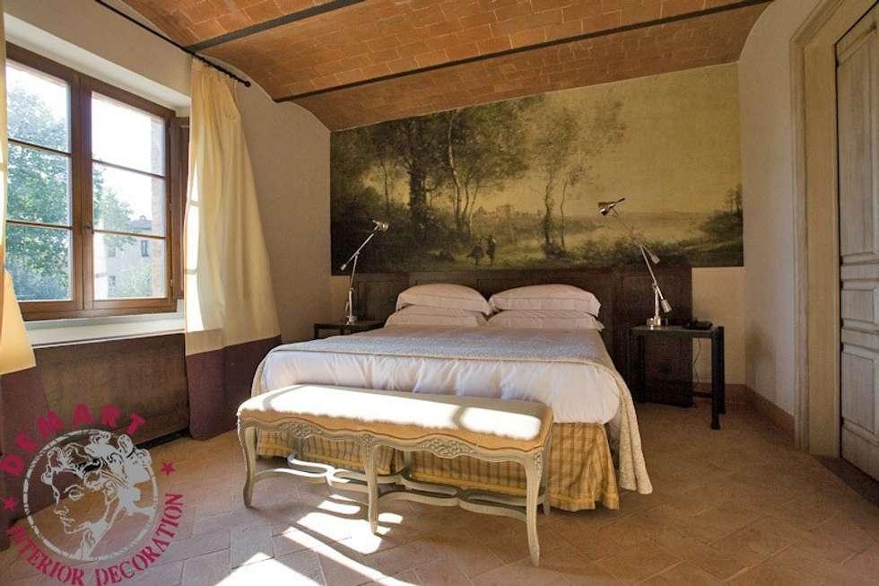foto di camera da letto in stile in stile country : decorazione ... - Camera Da Letto Stile Country