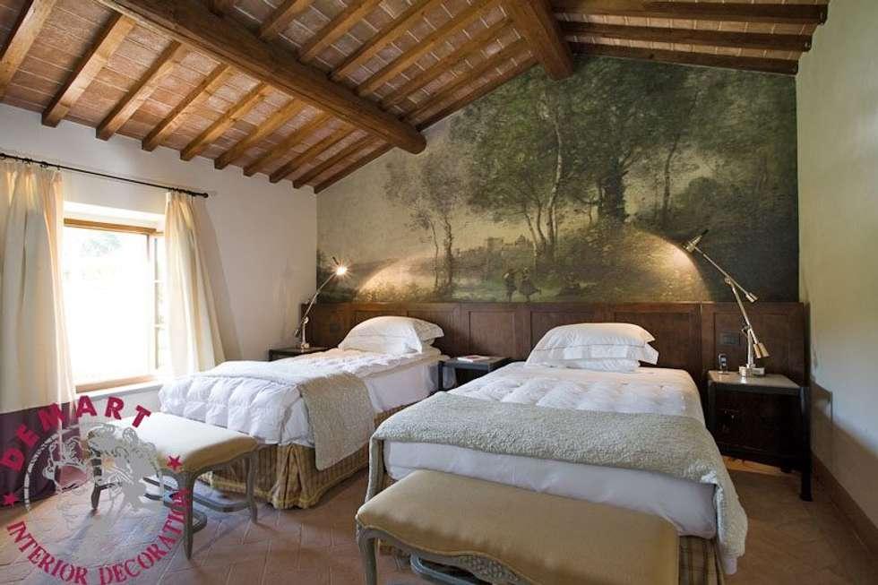 Idee arredamento casa interior design homify - Camere da letto stile country ...