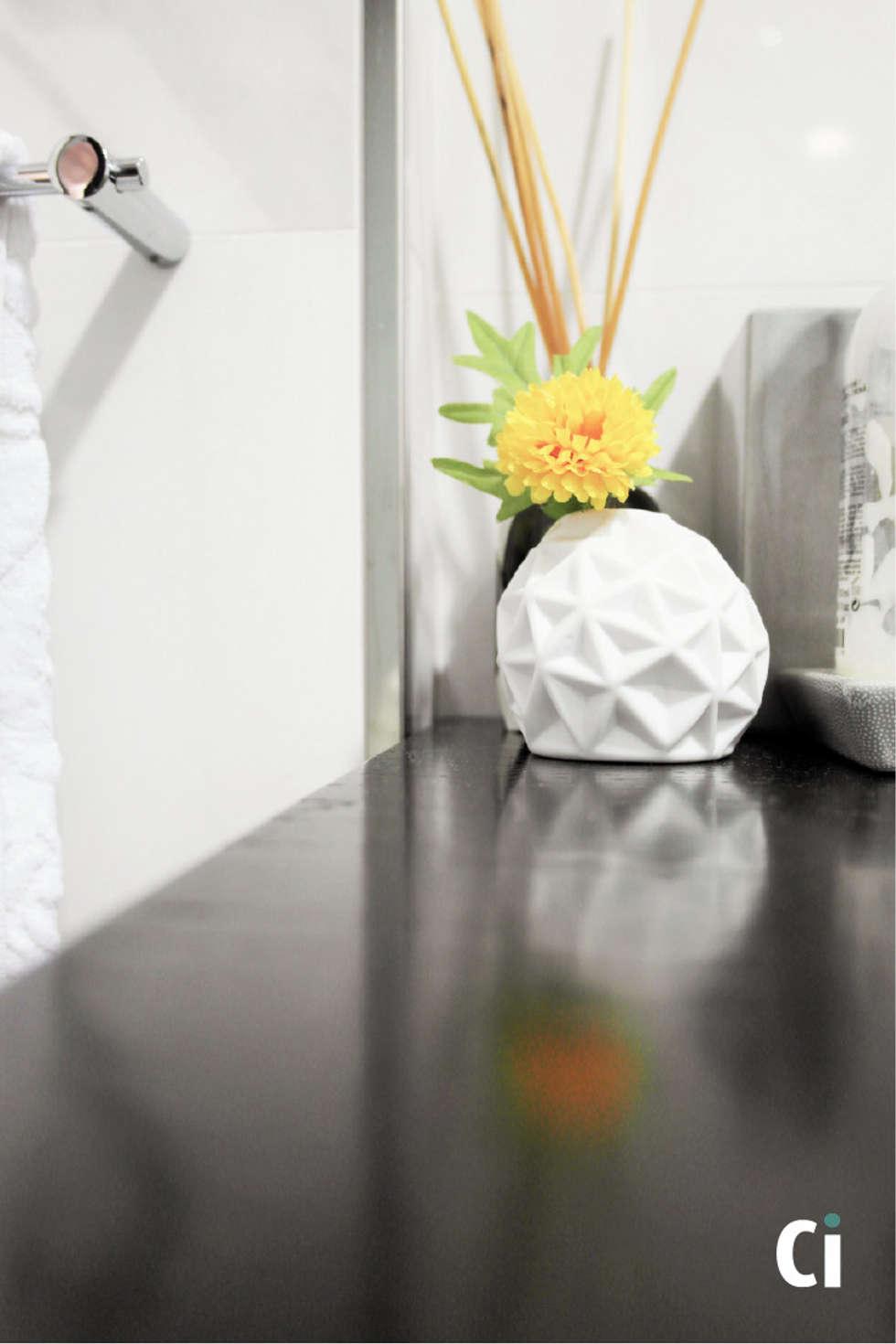 Decoração: Casas de banho modernas por Ci interior decor