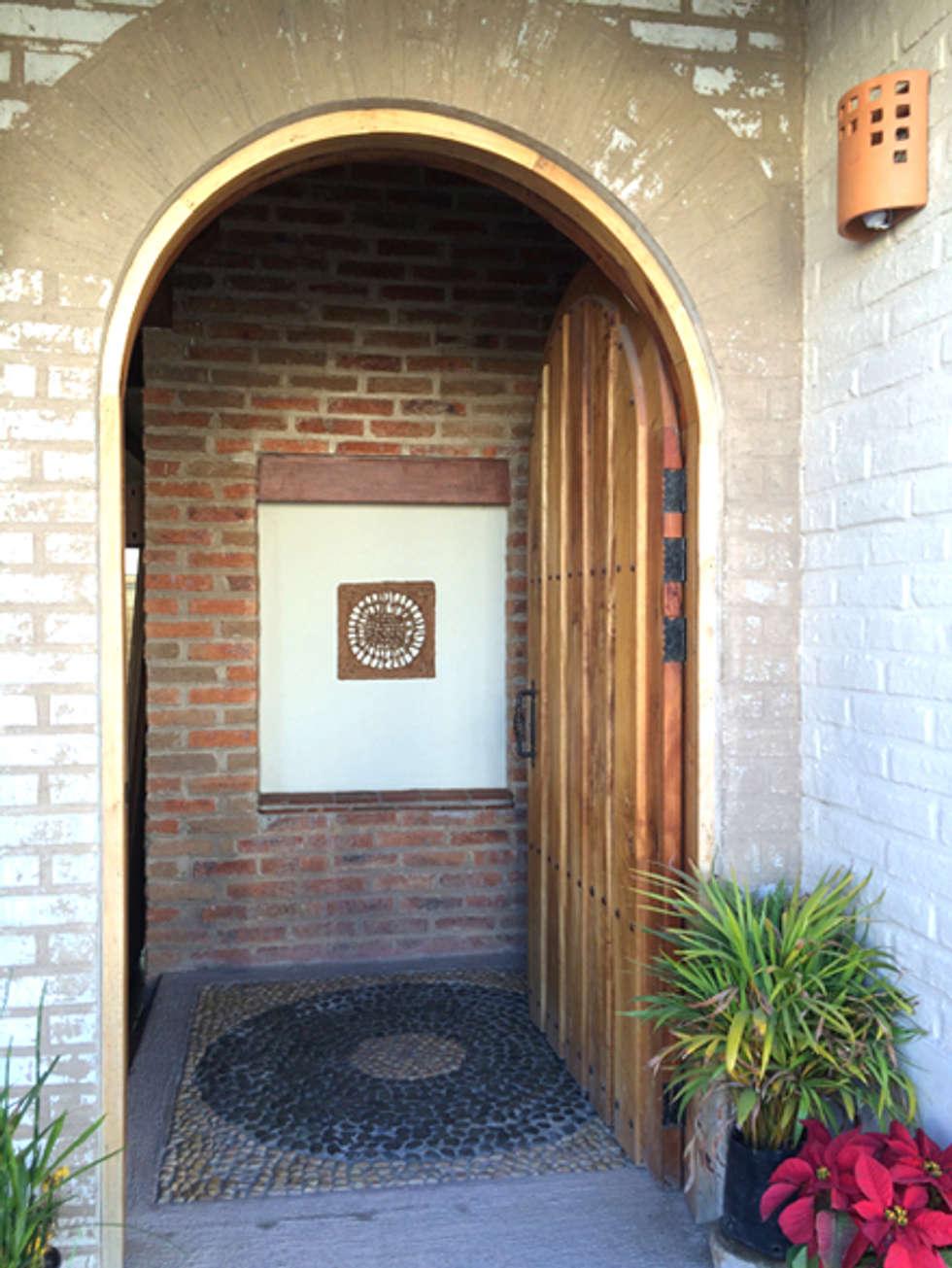 puerta principal ventanas de estilo por ue