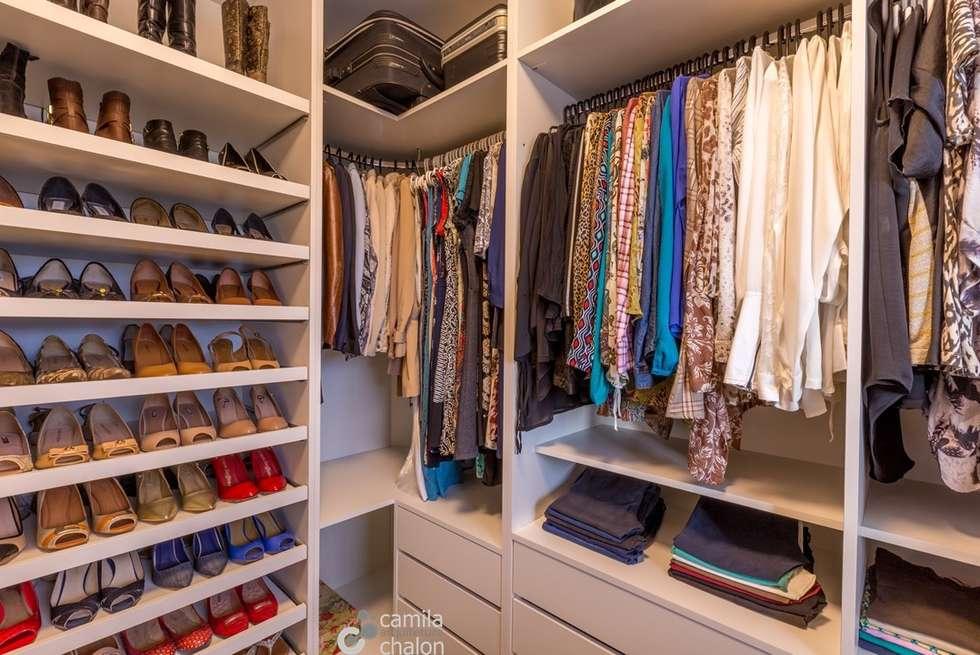 Fotos de decora o design de interiores e reformas homify for Modelos de zapateras para closets