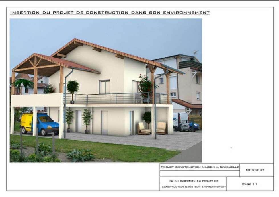 Insertion 3D: Maisons de style de style Moderne par Crhome Design