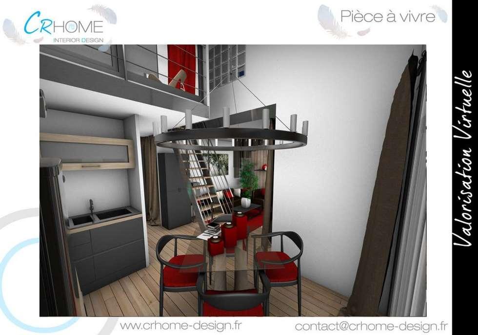 Cuisine - Salle à manger: Salle à manger de style de style Moderne par Crhome Design