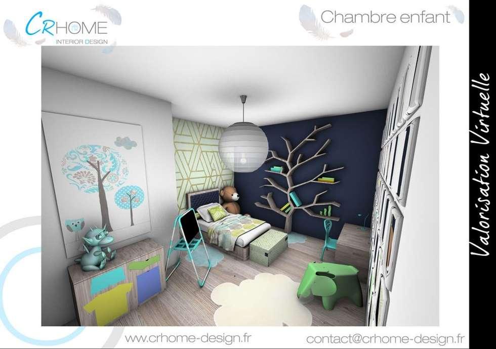 Chambre d'enfant: Chambre d'enfant de style de style Moderne par Crhome Design